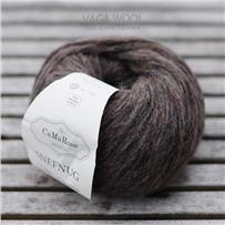 Пряжа Snefnug Коричневый темный7317, 110м/50г, CaMaRose, Morkebrun