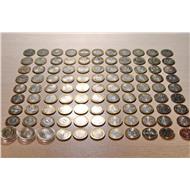 Полная Коллекция десяток (с ЧЯП ) 143 монеты