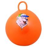 """Мяч-попрыгун """"Медвеженок"""" GB-403, 65 см, с ручкой, оранжевый"""