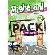 Right on! 2. Workbook Student's Book (with Digibook app) (international). Рабочая тетрадь (с ссылкой на электронное приложение)