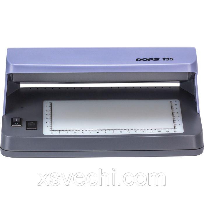 Детектор банкнот DORS 135 просмотровый ультрафиолетовый