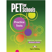 pet for schools practice tests  student's book - учебник
