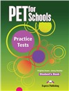 pet for schools practice tests  student's book - учебник