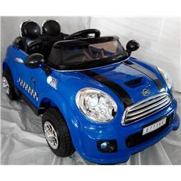 Электромобиль Mini Сooper E777KX VIP, синий