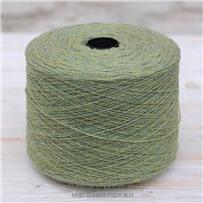 Пряжа Lambswool Зелёный лайм 216, 212м/50г., Knoll Yarns, Lime green