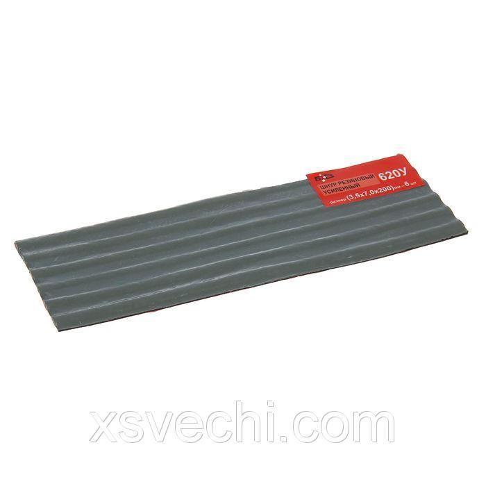 Жгут резиновый 620У, усиленный, 3,5х7х200 мм, набор 6 шт.