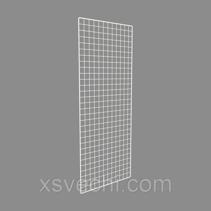 Сетка торговая, 1500*600мм, белый, окантовка - 8мм, пруток - 4мм