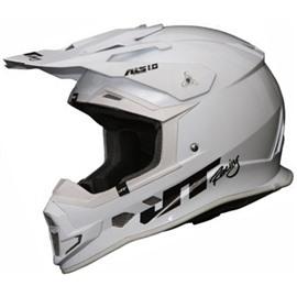 Шлем кроссовый ALS1.0 белый XL