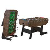 Weekend Настольный футбол (кикер) «Maccabi» (140x75x89, венге, складной), интернет-магазин товаров для бильярда Play-billiard.ru