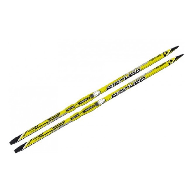 Лыжи Fischer SPRINT CROWN YELLOW NIS JR N63815, интернет-магазин Sportcoast.ru