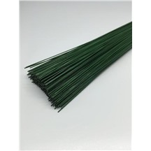 Герберная проволока 0,8мм 40см цвет:зеленый (1кг)