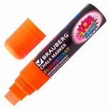 Маркер меловой Brauberg Pop-Art линия 15 мм оранжевый 151541