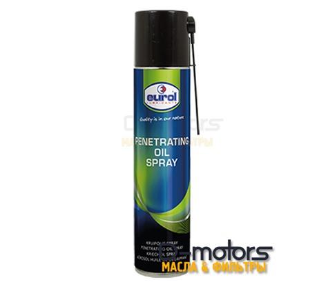 Проникающая смазка Eurol Penetrating Oil Spray (400 мл.)