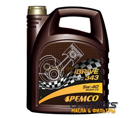 Моторное мало Pemco Idrive 343 5w-40 (5л.)