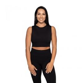 Спортивный топ Roxy Seamless Top, черный
