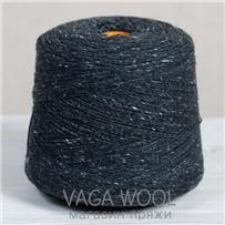 Пряжа Твид-мохер Черная береза 2708, 200м/50г Knoll Yarns, Mohair Tweed, Black Birch