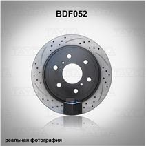 BDF052. Задняя ось. Перфорация + слоты