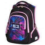 Рюкзак для девочек Brauberg Special Neon leaves 20 л 229980