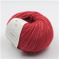 Пряжа Snefnug Красный 7870, 110м/50г, CaMaRose, Rod