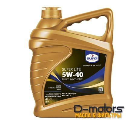 Моторное масло Eurol Super Lite 5W-40 (4л.)