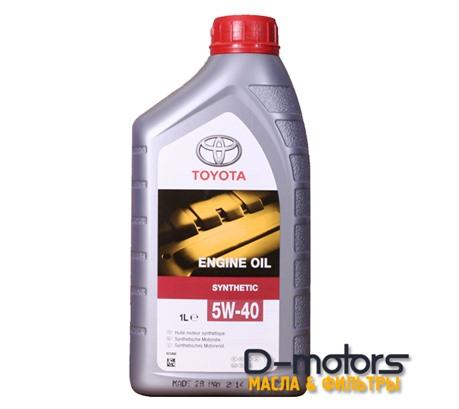 Моторное масло Toyota Engine Oil 5W-40 (1л.)