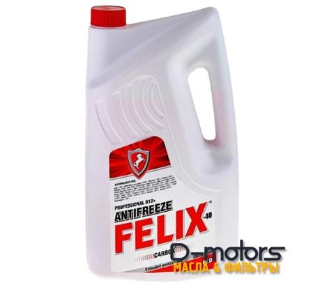 Антифриз готовый красный FELIX CARBOX RED -40 (5кг)