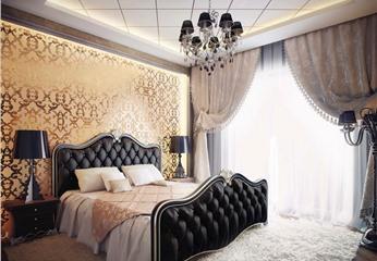 Стильный интерьер в спальне