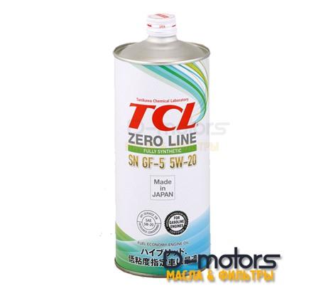 Моторное масло TCL Zero Line 5W-20 SN/GF-5 (1л.)