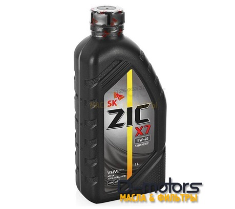 Моторное масло ZIC X7 5W-40  (1л.)
