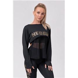 NE INTENSE Mesh T-shirt цв.чёрный