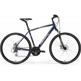 Велосипед Merida Crossway 20MD Dark Blue/Silver/White (2017), интернет-магазин Sportcoast.ru