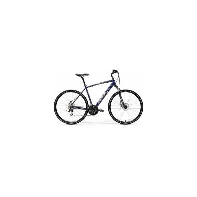 Велосипед Merida Crossway 20MD Dark Blue/Silver/White (2017), интернет-магазин Sportcoast.ru