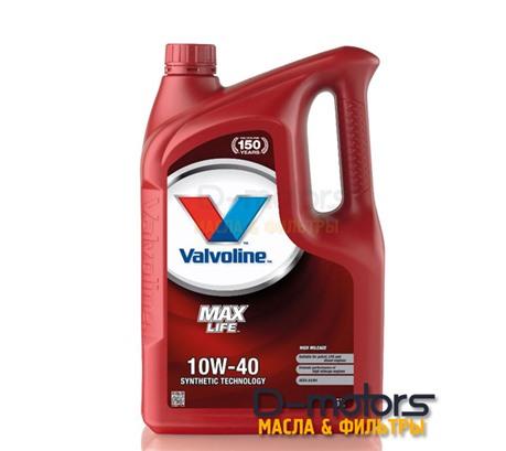 Моторное масло Valvoline Maxlife 10W-40 (5л.)