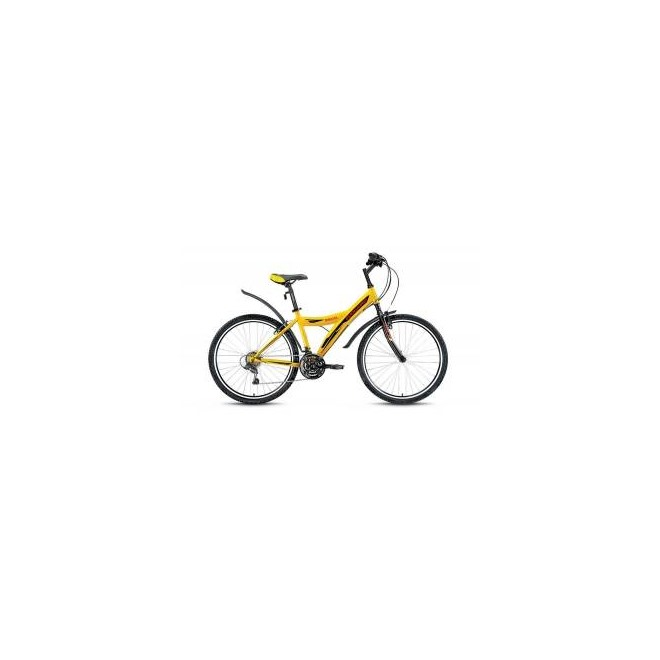 Велосипед Forward Dakota 1.0 26 (2017) Желтый , интернет-магазин Sportcoast.ru