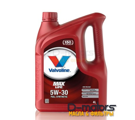 Моторное масло Valvoline Maxlife 5W-30 (4л.)