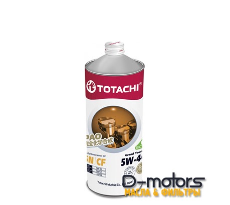 Моторное мало Totachi Grand Touring 5w-40 (1л.)