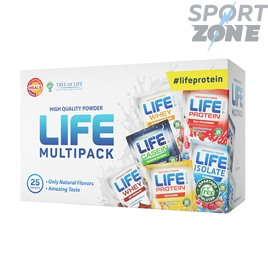Life Multi Pack 25 servs Самые популярные вкусы Life Protein, Life Whey, Life Casein и Life Isolate