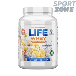 Life Whey 2lb Сывороточный протеин с добавлением казеиновый матрицы