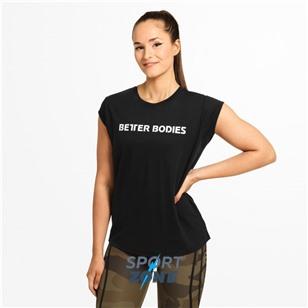 Футболка Better Bodies Astoria tee LIMITED EDITION Bazili0, черная