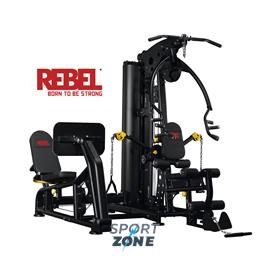 Многофункциональный тренажер с жимом ногами REBEL G9LP