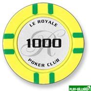 Набор для покера Le Royale на 500 фишек, интернет-магазин товаров для бильярда Play-billiard.ru. Фото 2