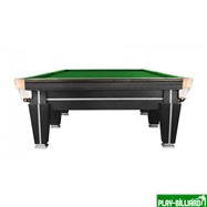 Weekend Бильярдный стол для снукера «Magnum Pro» 12 ф (черный, плита 50 мм в комплекте), интернет-магазин товаров для бильярда Play-billiard.ru. Фото 3