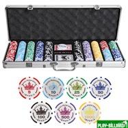 Набор для покера Empire на 500 фишек, интернет-магазин товаров для бильярда Play-billiard.ru. Фото 1