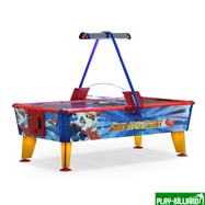 Wik Аэрохоккей «Ice & Fire Gold» 6 ф (199 х 107 х 81 см, цветной, жетоноприемник), интернет-магазин товаров для бильярда Play-billiard.ru