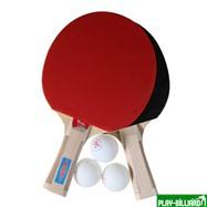 Weekend Набор для настольного тенниса «Taichi», (2 ракетки, 3 мяча), для интенсивных тренировок, интернет-магазин товаров для бильярда Play-billiard.ru. Фото 4