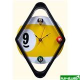 Weekend Часы настенные «Diamond» D29 см, интернет-магазин товаров для бильярда Play-billiard.ru
