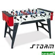 Norditalia Всепогодный настольный футбол (кикер) «Storm F-1 family outdoor» (138x76x88 см), интернет-магазин товаров для бильярда Play-billiard.ru
