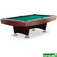 Weekend Бильярдный стол для пула «Reno» 9 ф (махагон), интернет-магазин товаров для бильярда Play-billiard.ru. Фото 1