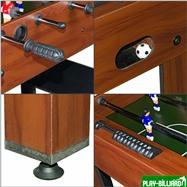 Настольный футбол (кикер) «Standart» (122x61x78.7 см, коричневый), интернет-магазин товаров для бильярда Play-billiard.ru. Фото 5