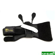 Weekend Перчатка тренировочная «Pro Shot Glove» (черная), интернет-магазин товаров для бильярда Play-billiard.ru. Фото 2